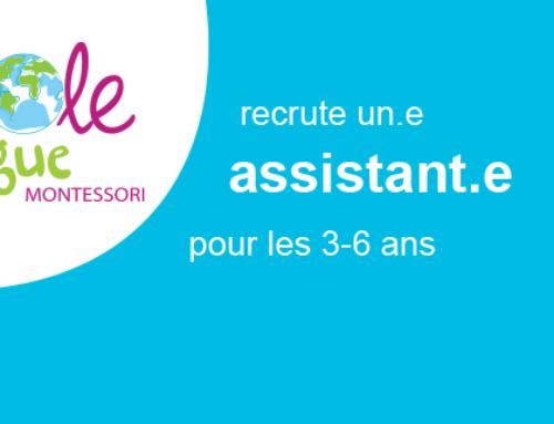 Offre d'emploi d'Assistante 3-6 ans