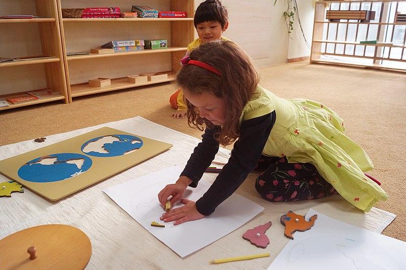 les besoins de l'enfant chez MAria Montessori